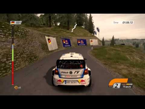 WRC 4 : vidéo de gameplay