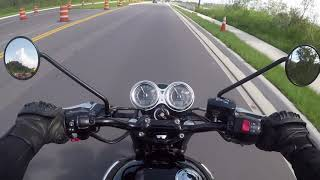 4. My 2017 Triumph Bonneville Tour and Road Review