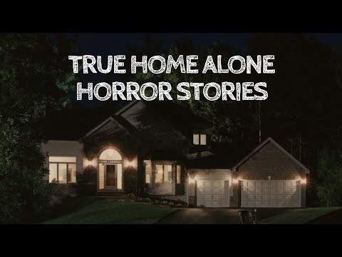 3 True Home Alone Horror Stories (With Rain Sounds)