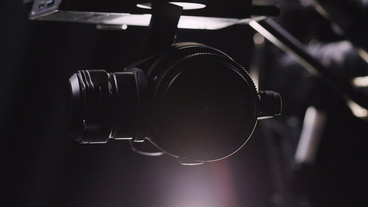 DJI представила новые камеры для Inspire 1