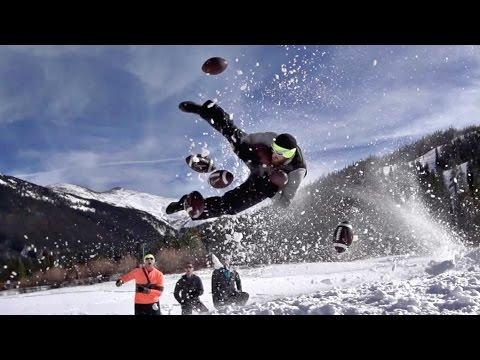 Snow Sports Battle | Dude Perfect