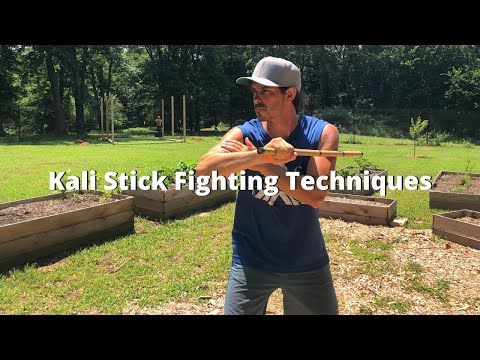 15 Minute Kali Stick Fighting Techniques Workout