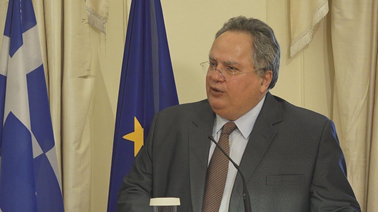 Δηλώσεις Ν. Κοτζιά για το Κυπριακό