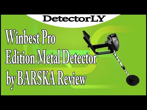 Winbest Pro Edition Metal Detector by BARSKA Review