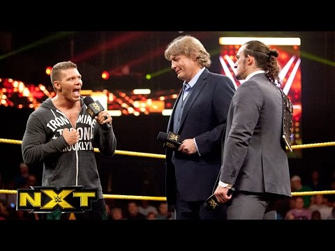 manager - William Regal begins his tenure as NXT General Manager in a big way.