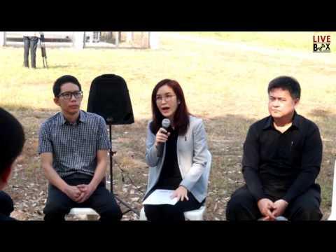 การแถลงข่าวและเยี่ยมชมสถานีตรวจวัดคุณภาพอากาศ CCDC ภายใต้โครงการวิจัยประเทศไทยไร้หมอกควัน