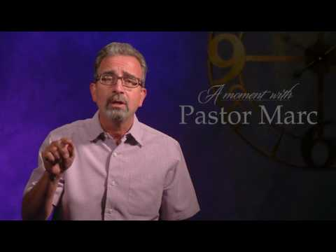 "A Moment with Pastor Marc #44<br /><strong>""Memories""</strong>"