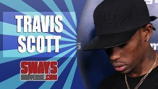 "Travis Scott Stops By The Sway In The Morning To Talk ""Days Before Rodeo,"" Relationship With Kanye"