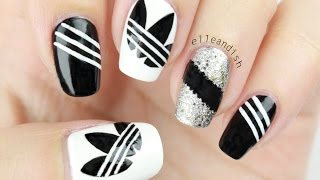 ★ ADIDAS NAILS (Freehand) ★ - YouTube