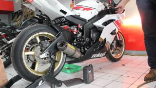 6. YAMAHA YZF R6 2010 US SPEC BEFORE ECU FLASHED - ONE3MOTOSHOP