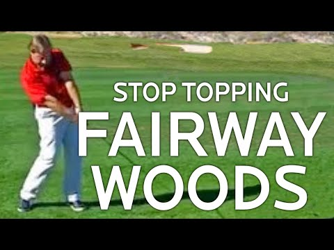 Golf Lessons – How To Stop Topping Fairway Woods