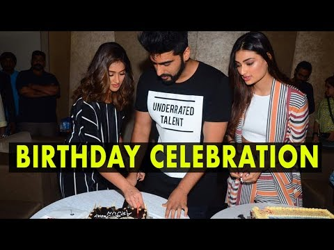 Arjun Kapoor Celebrate His Birthday With Media In