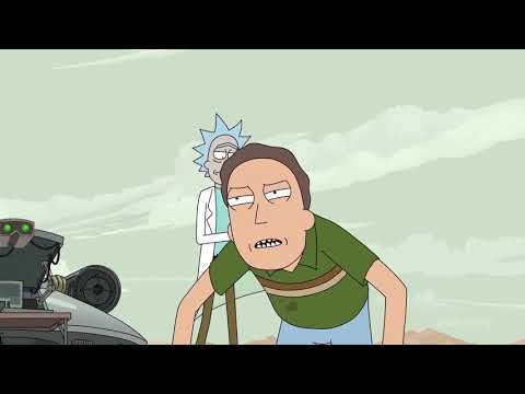 Rick and Morty Season 4 Episode 4 –  episode 2 ending and Post credits scene