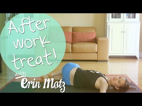 after work - This class is dedicated to all my yogis who work hard for their money and spend a good portion of their day either on their feet or sitting behind a desk. Ma...