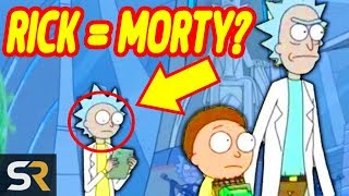 The Schwiftiest Rick And Morty Secrets And Theories COMPILATION by Screen Rant