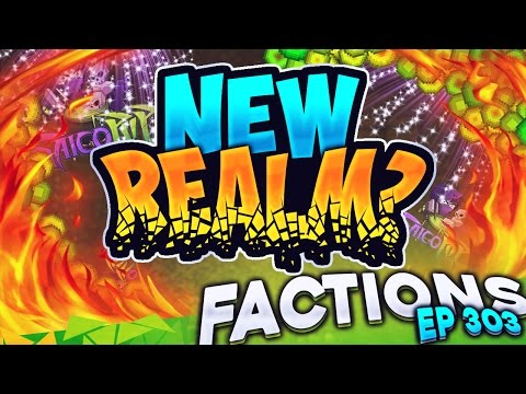 Minecraft Factions #303 - New Realm!?  (Minecraft Raiding)