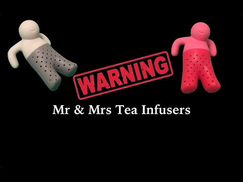 Warning Mr & Mrs Tea Infusers