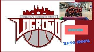 El Logrobasket Club gana la Easo Kopa