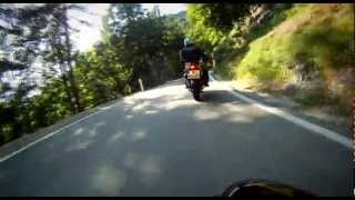 Caprino Veronese Italy  city pictures gallery : Onboard from Mori to Caprino Veronese 1 of 2, Italy, Triumph Tiger 1050