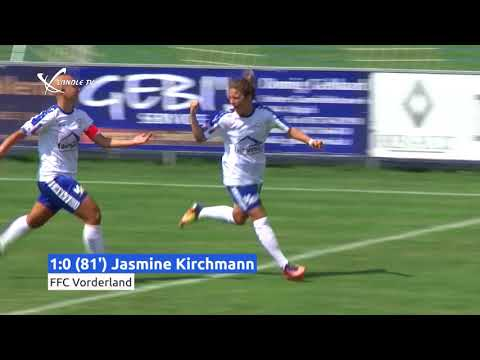 HIGHLIGHTS - FFC Vorderland Vs. FC Bergheim