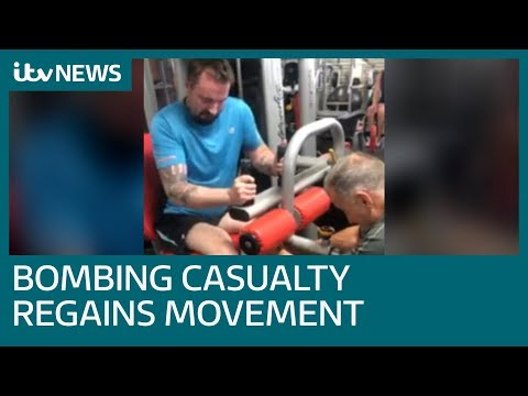 Closest casualty to Manchester Arena bombing regains movement in legs | ITV News