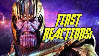 AVENGERS: ENDGAME Movie First Reactions! by JoBlo Movie Trailers