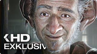 BFG - Big Friendly Giant Exklusiv Clip & Trailer German Deutsch (2016)