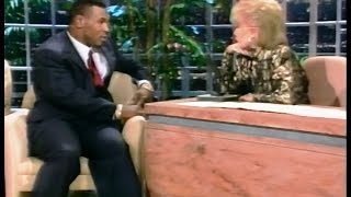 Mike Tyson On Joan Rivers - Before And After Berbick Fight