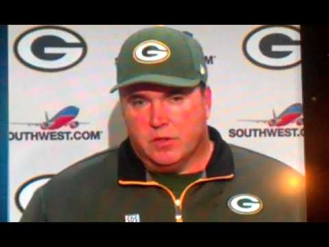 Mike McCarthy post game after loss to Seahawks