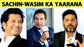 SUPER EXCLUSIVE: Sachin & Wasim Ka Yaarana, With Stories of Indo-Pak Cricket | Vikrant Gupta