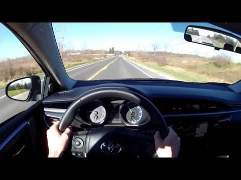 2014 Toyota Corolla S – WINDING ROAD POV Test Drive