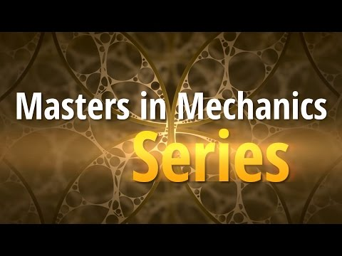 Introducing: The Masters in Mechanics Video Series!