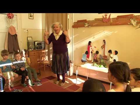 2018-03-12 Csillag Éva hittanórái a Szent Gellért Óvodában - 2018-03-12
