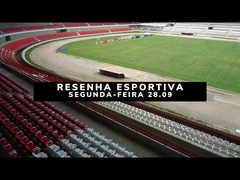 Resenha Esportiva Segunda 28.09