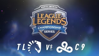 Video TL vs. C9 - Week 4 Day 1 | NA LCS Spring Split | Team Liquid vs. Cloud9 (2018) MP3, 3GP, MP4, WEBM, AVI, FLV Juni 2018