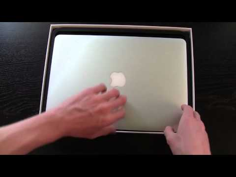"Mid 2012 MacBook Air 13"" Unboxing - June 11th Model"