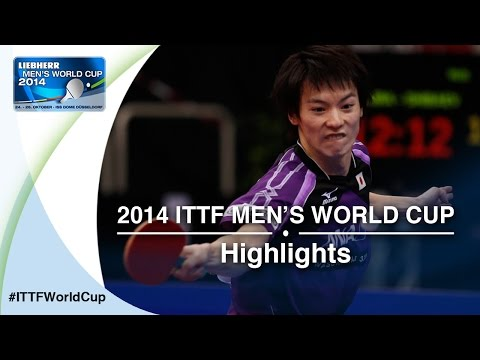 Cup - Review all the highlights from the MATSUDAIRA Kenta vs SHIBAEV Alexande Qual Groups first stage table tennis match at the2014 Men's World Cup in Düsseldorf, GERMANY Subscribe here for more.