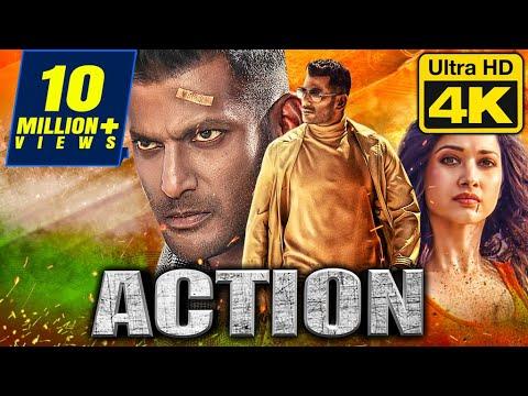 Action (4K ULTRA HD) - Blockbuster Action Hindi Dubbed Movie | Vishal, Tamannaah,Aishwarya Lekshmi