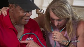 Ralf and Mary Reuland listen to their son's heart beat inside the chest of Hall of Famer, Rod Carew. Catch Real Sports anytime on HBO OnDemand, HBO GO & HBO NOW.Real Sports on Facebook: https://www.facebook.com/realsportshbo/HBO Boxing on Twitter: https://twitter.com/HBOboxingHBO Boxing Official Site: http://itsh.bo/HQslC8. HBO Sports on HBO GO® http://itsh.bo/ij8oqS.HBO Boxing on Instagram: http://instagram.com/hboboxingInside HBO Boxing: http://www.insidehboboxing.com/Check out other HBO ChannelsHBO: http://www.youtube.com/hboGame of Thrones: http://www.youtube.com/GameofThrones Real Time with Bill Maher: http://www.youtube.com/RealTime HBO Documentary Films: http://www.youtube.com/HBODocs Cinemax: http://www.youtube.com/Cinemax HBO Latino: http://www.youtube.com/HBOLatino