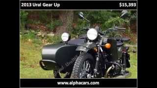 9. 2013 Ural Gear Up New Motorcycles Boxborough MA
