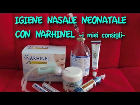Igiene Nasale Neonatale Con Narhinel | powermamy