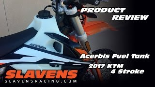 9. Product Review - Acerbis Fuel Tank on 2017 KTM 4 Stroke