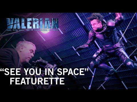 Valerian and the City of a Thousand Planets (Featurette 'See You in Space')