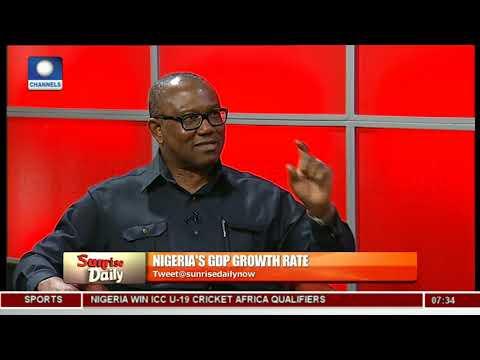 Peter Obi Laments Nigeria's High Debt Profile - Peter Obi Pt 1 | Sunrise Daily |