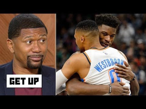 Video: Jalen Rose hopes Russell Westbrook joins Jimmy Butler on the Heat | Get Up