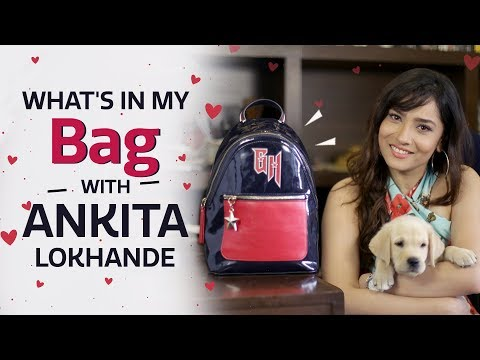 What's In My Bag With Ankita Lokhande | S03E04 | Fashion | Pinkvilla | Bollywood