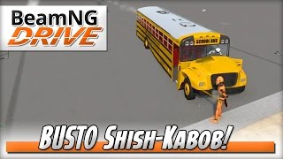 Precision BUSTO Skewer! - BeamNG DRIVE - Crash Test Dummy Mod