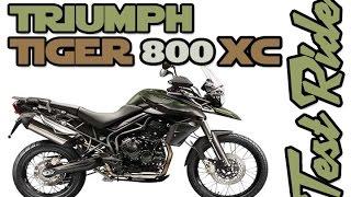 9. Triumph Tiger 800xc : Test Ride