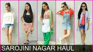 Watch More -  https://goo.gl/62tLVQHey Pretty girls!  Its time for Sarojini Nagar Haul video n if uh r planning to go Sarojini ever then do watch the video till end i have some awesome tips for uh! Comment below ur Favourite Outfit n Subscribe to my channelFirst Outfit:Tunic with blue lining 150 rs.Peach coloured Sando 100 Rs.Blue rough n tough shorts 250 Rs.footwear 150 Rs.Second outfit:Black Top 350 Rs. from INCENSESkirt  300 Rs.Third OutfitLight blue Dungaree 300RS. Fourth OutfitOff white off shoulder top 250 Rs'Blue shorts 200 Rs.Footwear 250 Rs.Fifth outfit White kurti 250Don't forget to TAG & SHARE it with your friends.~ Love♥ Pretty Priya ♥NEW UPLOADS every Monday, Wednesday & Friday!! ▷ CONNECT with us!! ♥ YOUTUBE - https://www.youtube.com/PrettyPriyaTV♥ FACEBOOK - https://www.facebook.com/PrettyPriyaTV/♥ TWITTER - https://twitter.com/PrettyPriyaTV♥ INSTAGRAM - https://www.instagram.com/PrettyPriyaTV/♥ SNAPCHAT - @PrettyPriyaTV ♥ BUSINESS INQUIRY - PrettyPriyaTV@gmail.comAUDIO DISCLAIMER/CREDITS –The background music is either taken from royalty free site and/or from the below sources under proper usage licence specified below –DISCLAIMER: The information provided on this channel and its videos is for general purposes only and should NOT be considered as professional advice.