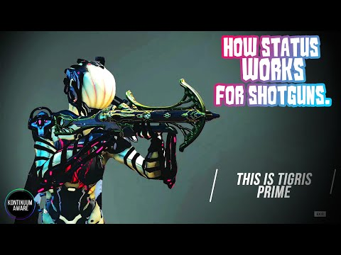 Warframe - Best build for Tigris Prime against End Game Enemies and how Status works for Shotguns